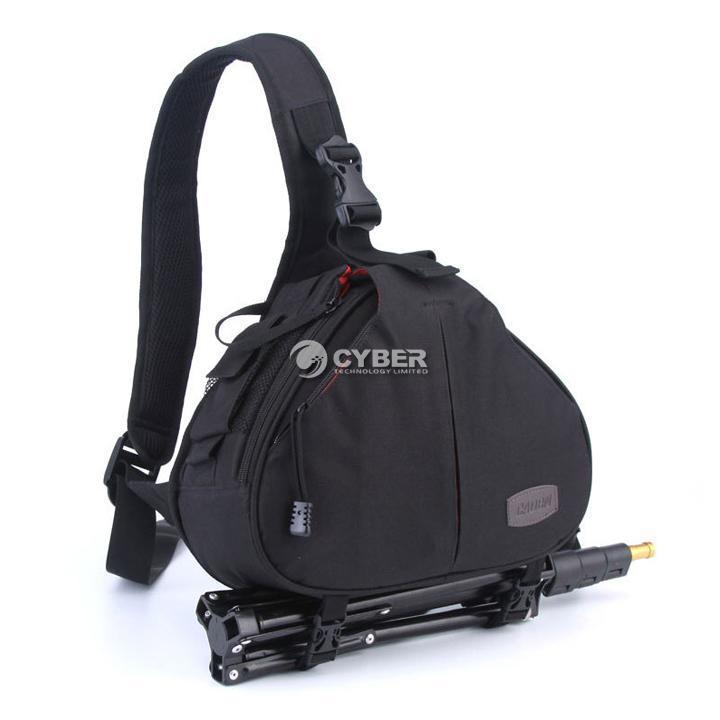 New Cool Pro Casual DSLR SLR Camera Shoulder Bag Messenger For Nikon Canon DZ88