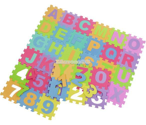 36 pz Stuoia puzzle Tappeto bambini Tappeto-gioco da gioco ...