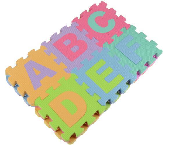 36 Large Eva Foam Floor Mat Baby Kid Play Jigsaw Puzzle
