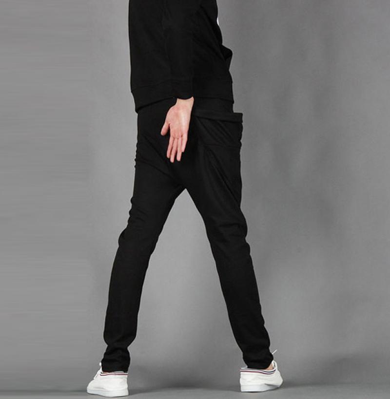 herren jungen freizeit harem schlabber hip hop tanz sport jogginghose hosen ebay. Black Bedroom Furniture Sets. Home Design Ideas