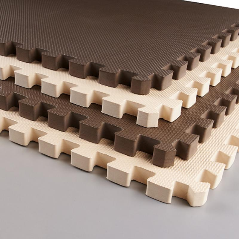 24 Sq Ft Foam Interlocking Exercise Gym Floor Mat Tile Flooring Hfor