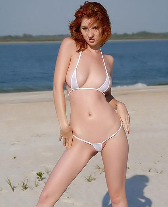 Sexy Women Micro Thong Swimsuit Bikini Set Mini Triangle