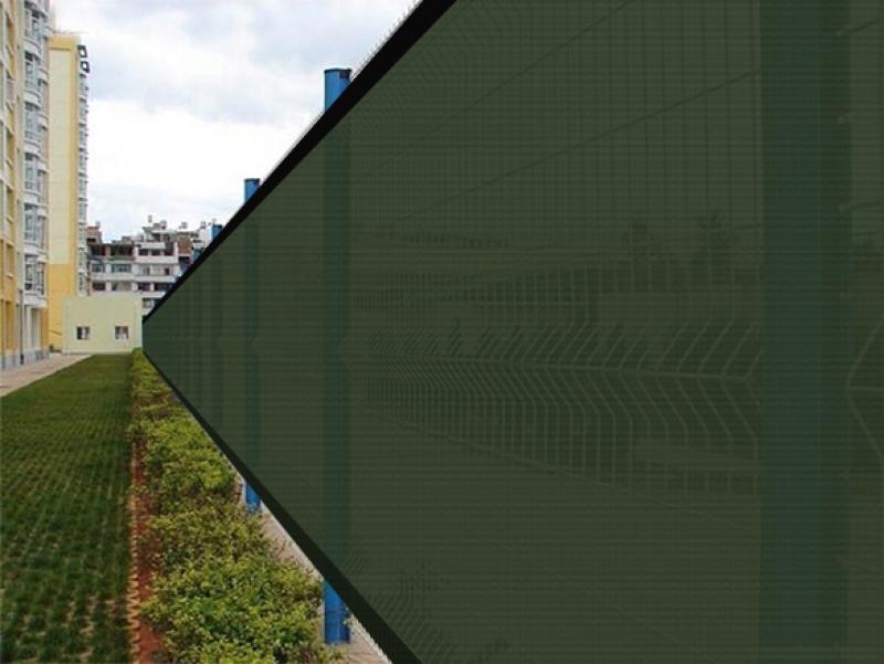 Privacy mesh fence screen windscreen mesh fabric outdoor for Garden screening fabric