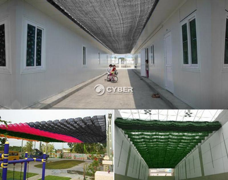 Privacy Mesh Fence Screen Windscreen Mesh Fabric Outdoor