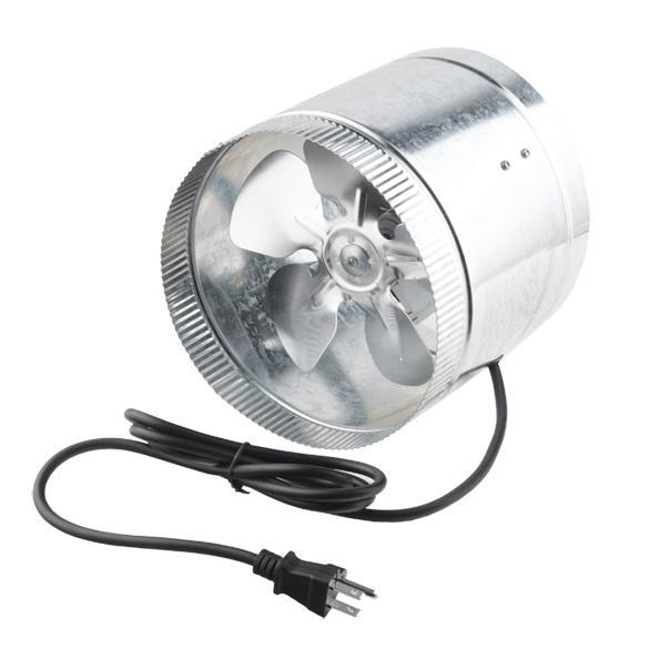 In Line Duct Booster Fan : Eh e quot inch duct booster blower exhaust fan cool vent