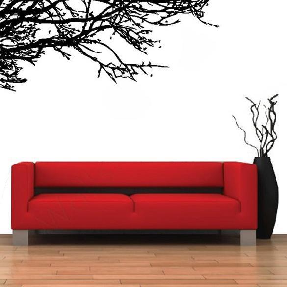 cf05a94192 Stunning Tree Branch Removable Wall Art Sticker Vinyl Decal Mural Home DIY  Decor