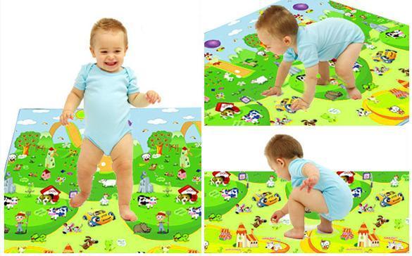 Beb gym manta de juegos suave infantil actividad jugar en - Colchonetas suelo infantiles ...