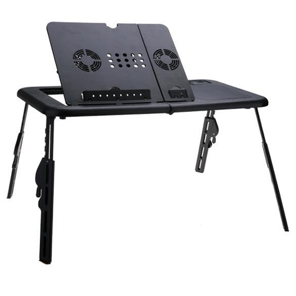 Adjustable Usb Folding Laptop Table Stand With 2 Cooling