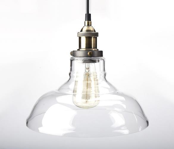 New diy led glass ceiling light vintage chandelier pendant edison lamp fixture - Diy pendant light fixture ...