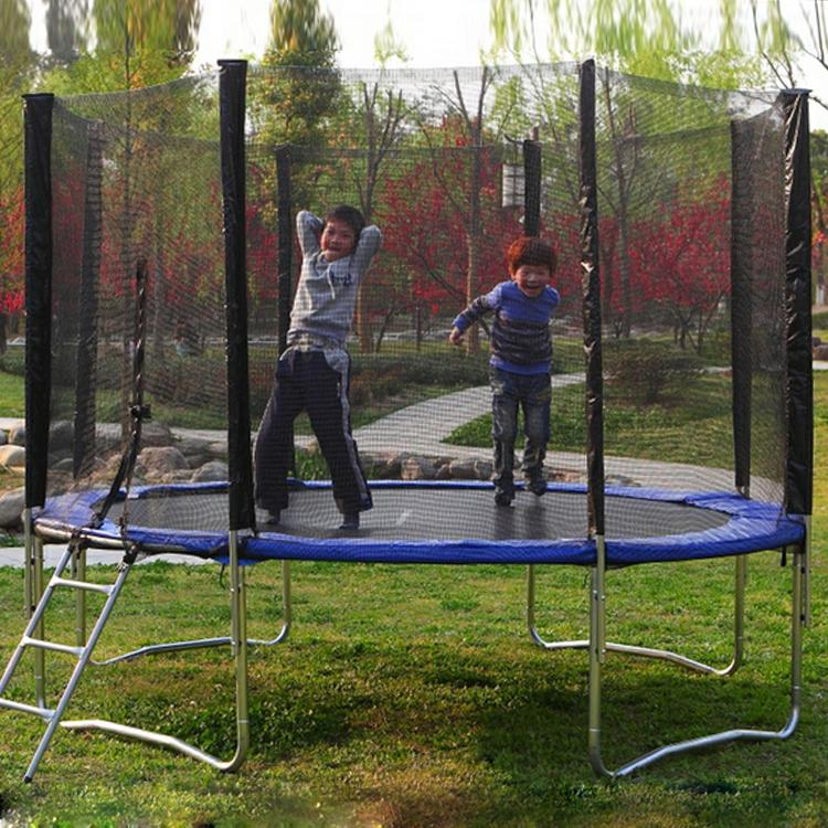 12' TRAMPOLINE ENCLOSURE SAFETY NET For A Pro Jump With 4