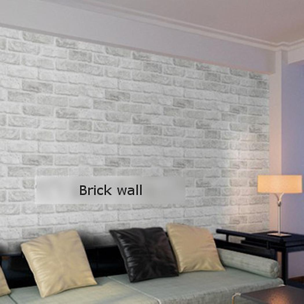 Wall Art Decals For Textured Walls : Wall decal sticker home decor grey embossed textured d
