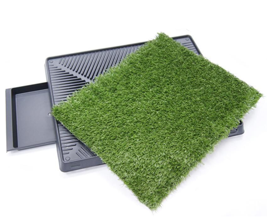 Dog Potty Training Pee Turf Grass Pad Indoor Pet Patch