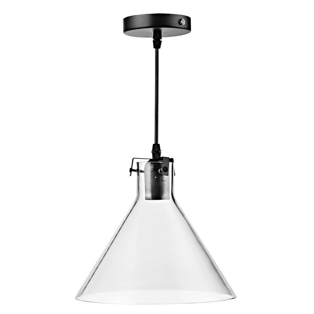 Retro Vintage Industrial Loft Glass Cone Shade Ceiling