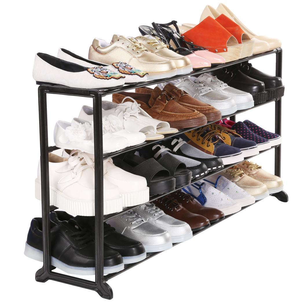 10 tier hot 50 pair space saving shoe tower rack storage for Industrie designer
