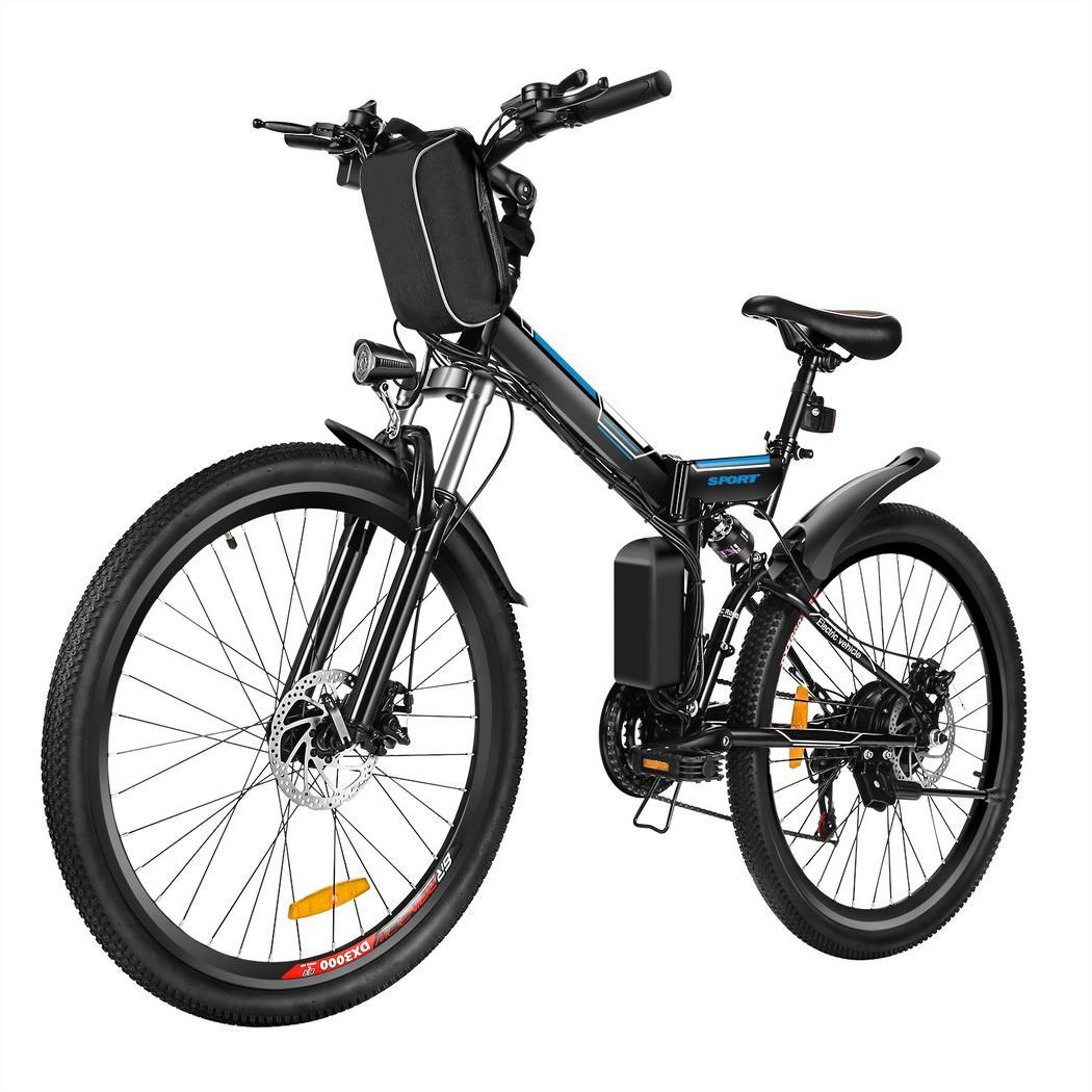 26 folding electric mountain bike bicycle ebike w. Black Bedroom Furniture Sets. Home Design Ideas