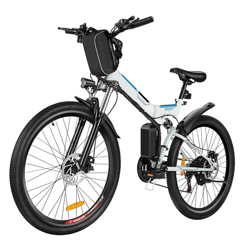 26 folding electric mountain bike bicycle ebike w lithium battery 250w ebay. Black Bedroom Furniture Sets. Home Design Ideas