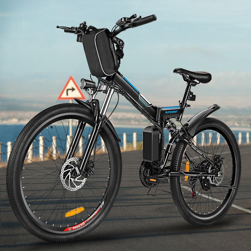 26 Quot Folding Electric Mountain Bike Bicycle Ebike W