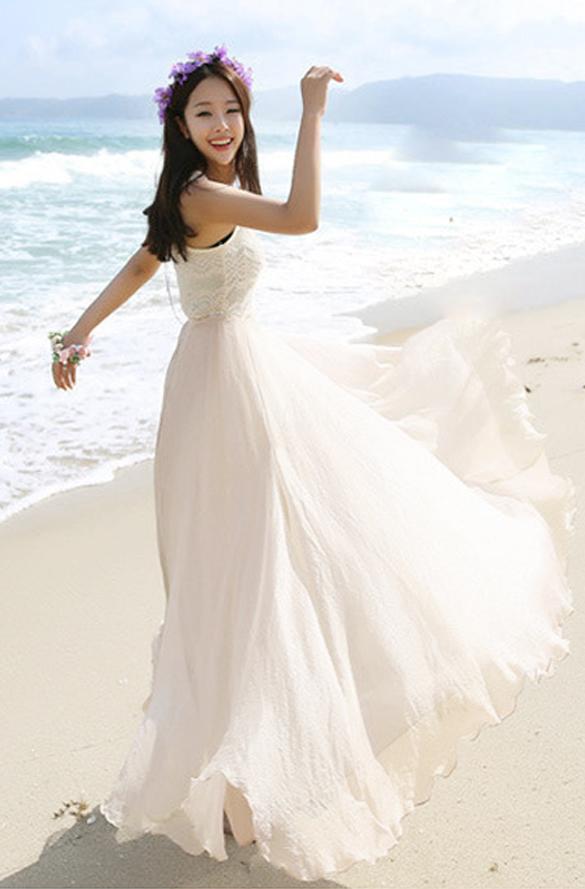 c051f5ddbf Compra Maxi Vestido Largo Bohemio De Gasa Shinning Para Mujer ...