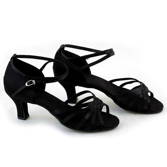 Sunweb Womens Brillante Ballroom Dance Shoes Latin Pumps Black | Lazada Malaysia