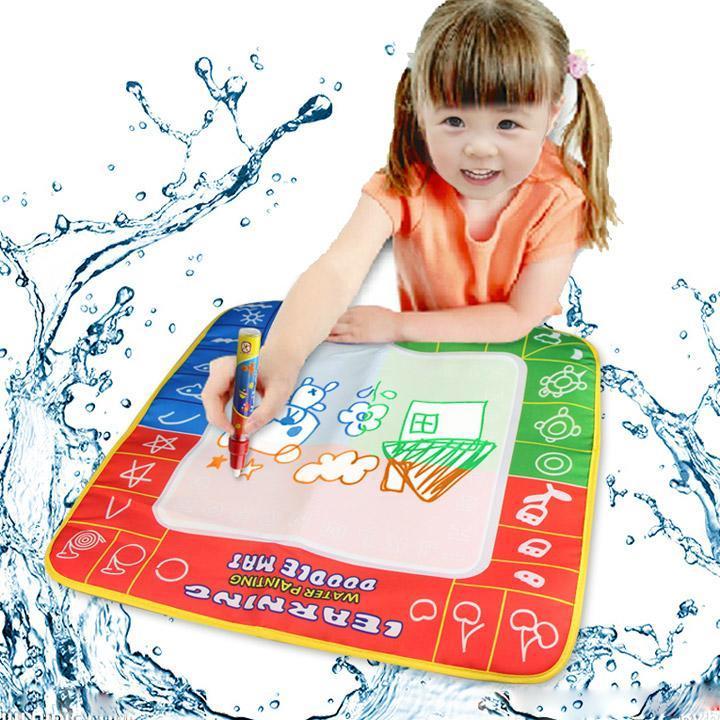 C1my Enfants Jouets Dessin L 39 Eau Crire Plaque De Peinture Tapis Tapis De Jeu Ebay