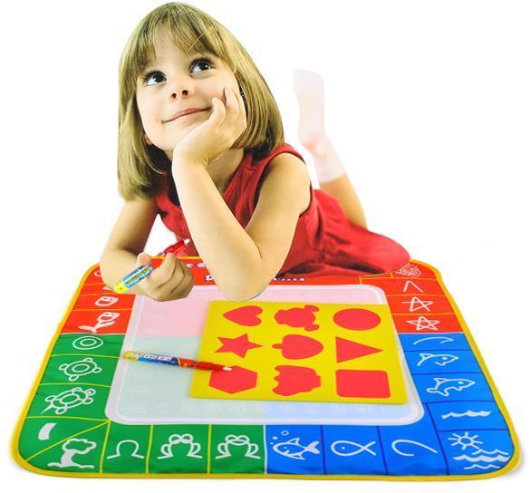 c1my enfants jouets dessin l 39 eau crire plaque de peinture tapis tapis de jeu ebay. Black Bedroom Furniture Sets. Home Design Ideas