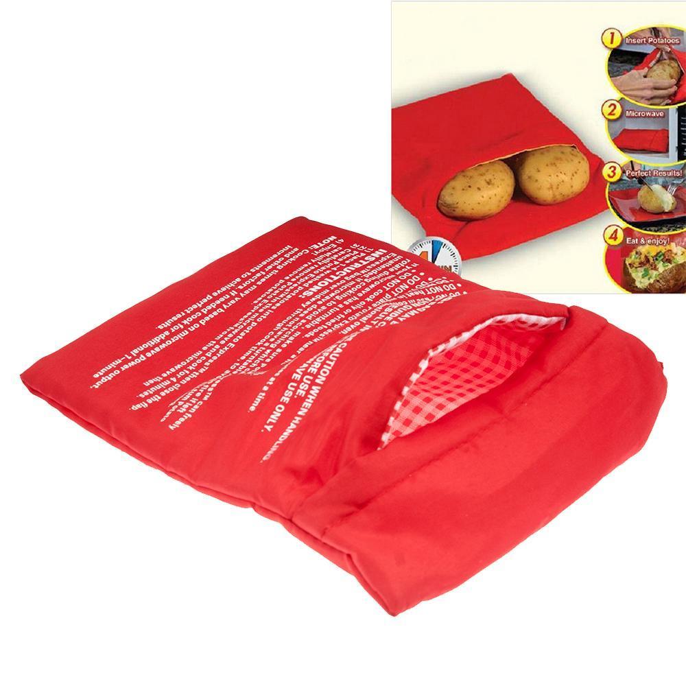Pomme de terre cors pain four micro onde cuisini re sac for Cuire des pommes de terre au micro ondes sac plastique