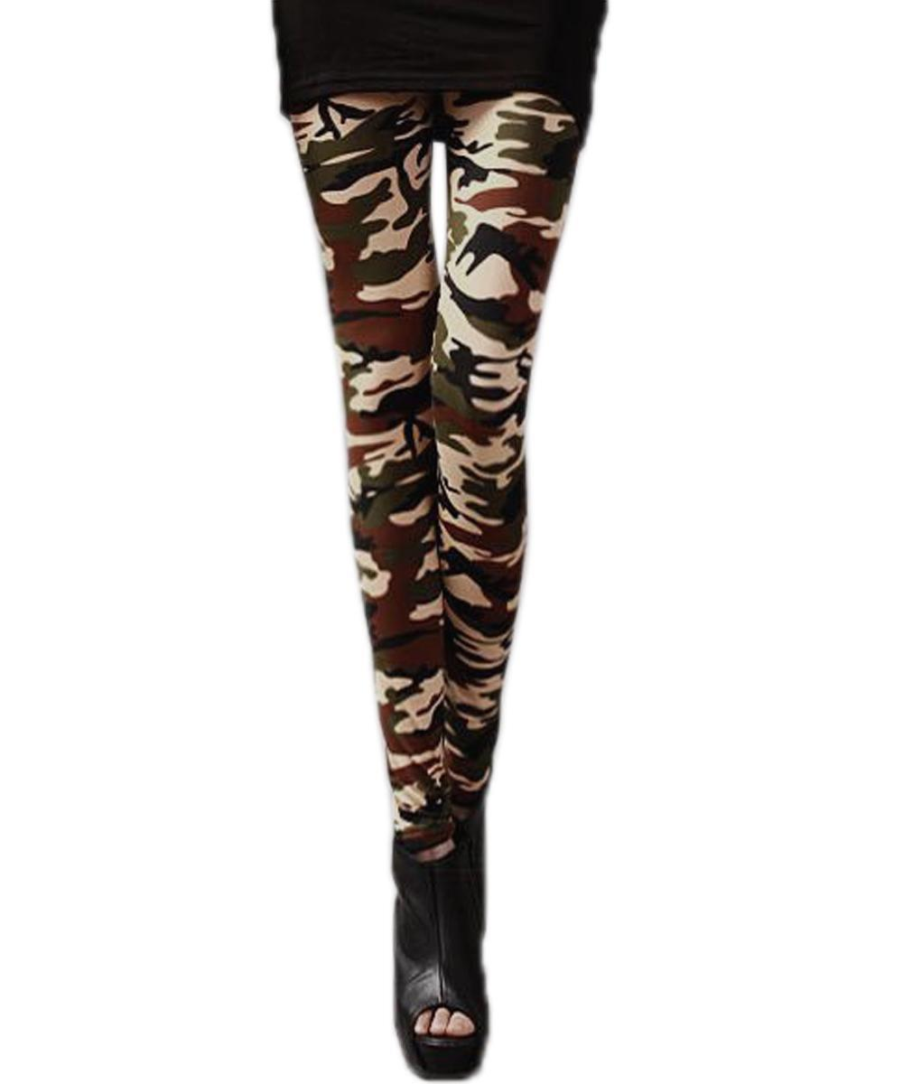 damen armee milit r camouflage gr n camo skinny baumwolle. Black Bedroom Furniture Sets. Home Design Ideas