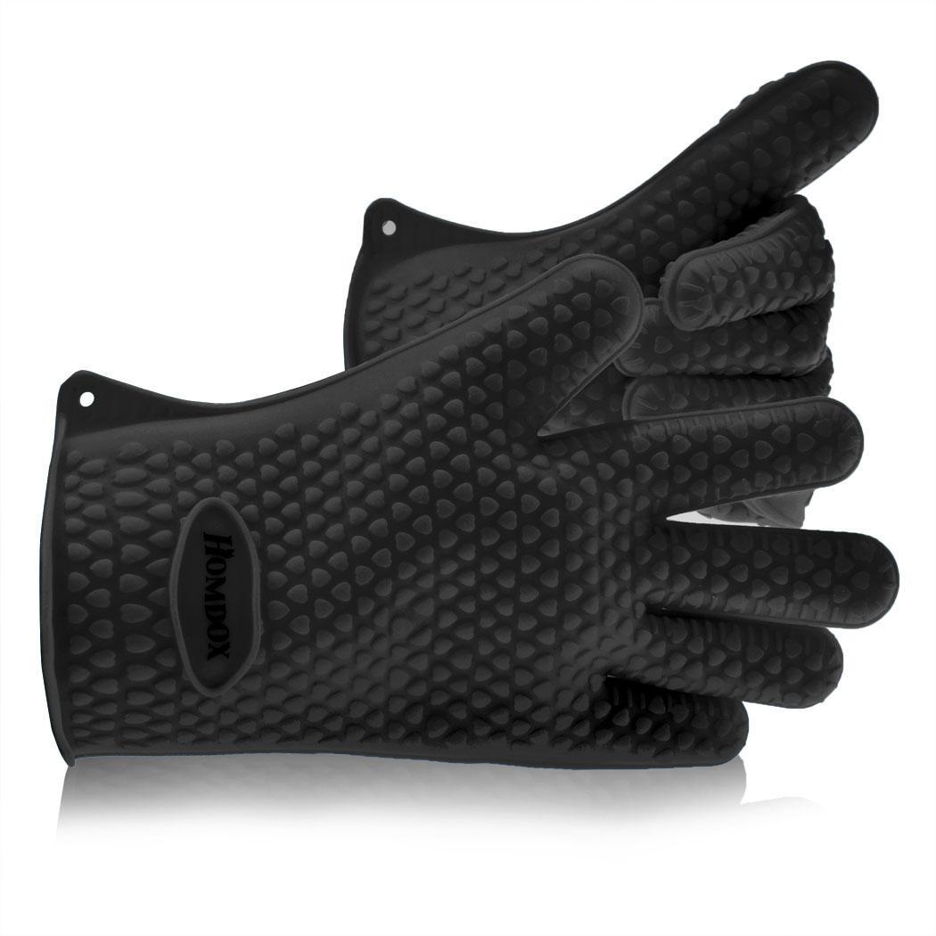 k che silikon handschuhe hitzebest ndig wasserdicht grillen topfhandschuh ebay. Black Bedroom Furniture Sets. Home Design Ideas