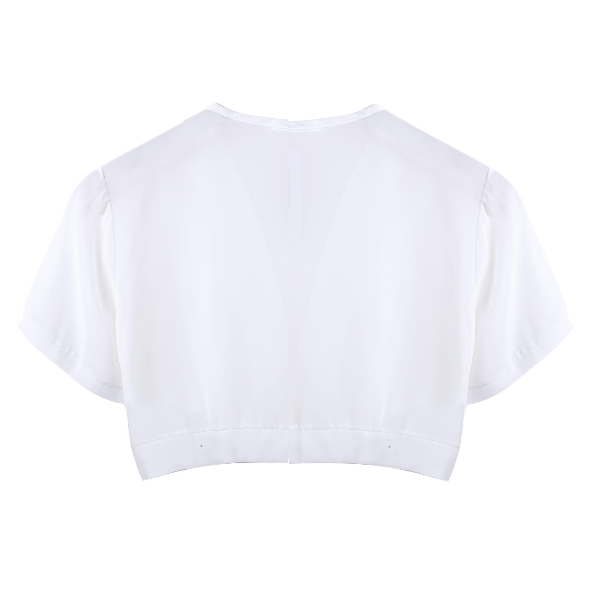 femme mousseline transparente manche courte haut cardigan bol ro paule b5ut ebay. Black Bedroom Furniture Sets. Home Design Ideas