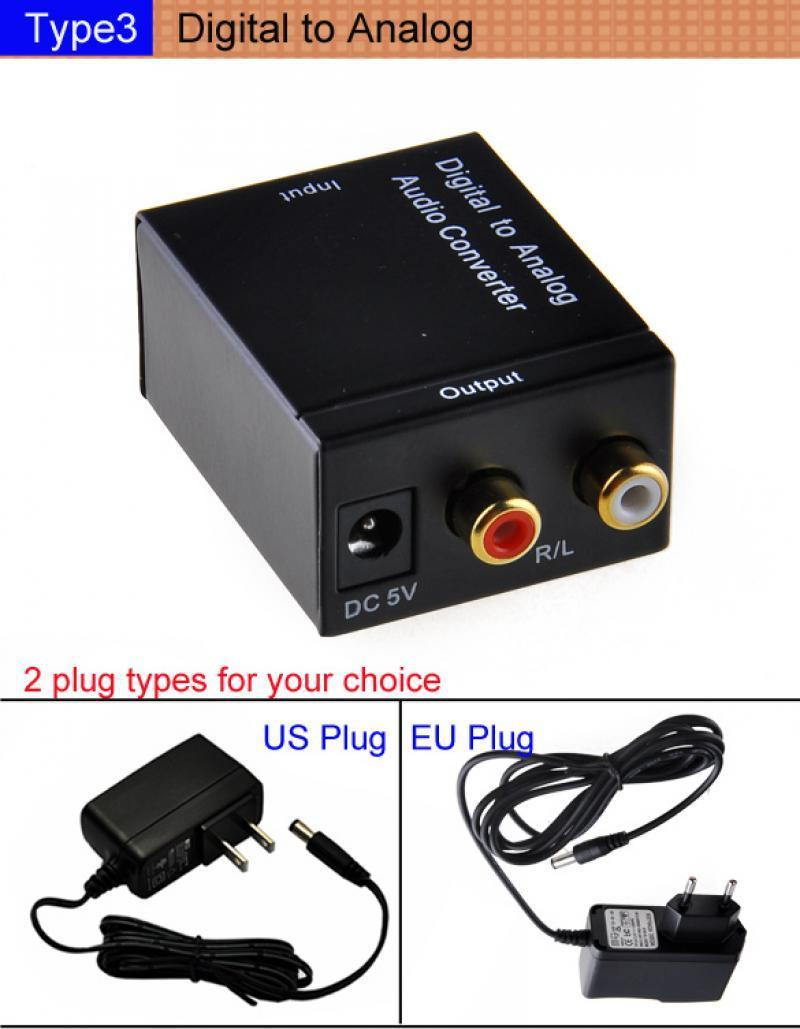 digital optical coaxial analog hdmi to vga video cable cord converter adapter b2 ebay. Black Bedroom Furniture Sets. Home Design Ideas