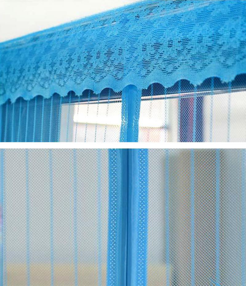 Mesh Insect Fly Bug Mosquito Door Net Netting Mesh Screen Magnets Curtain Caf8 Ebay