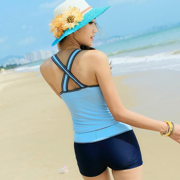 Adolescent vêtements sports bikini bikini