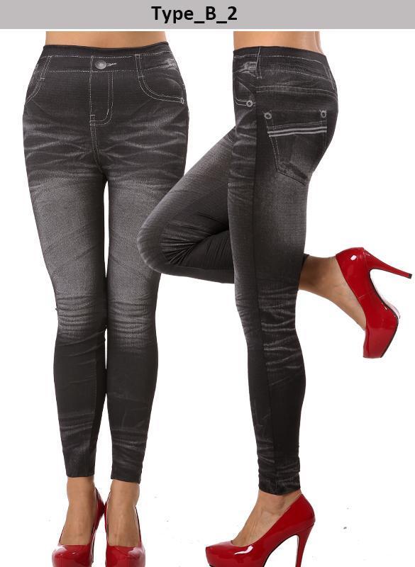 Sexy Women Stretchy Skinny Jeggings Soft Denim Jean Pants ...
