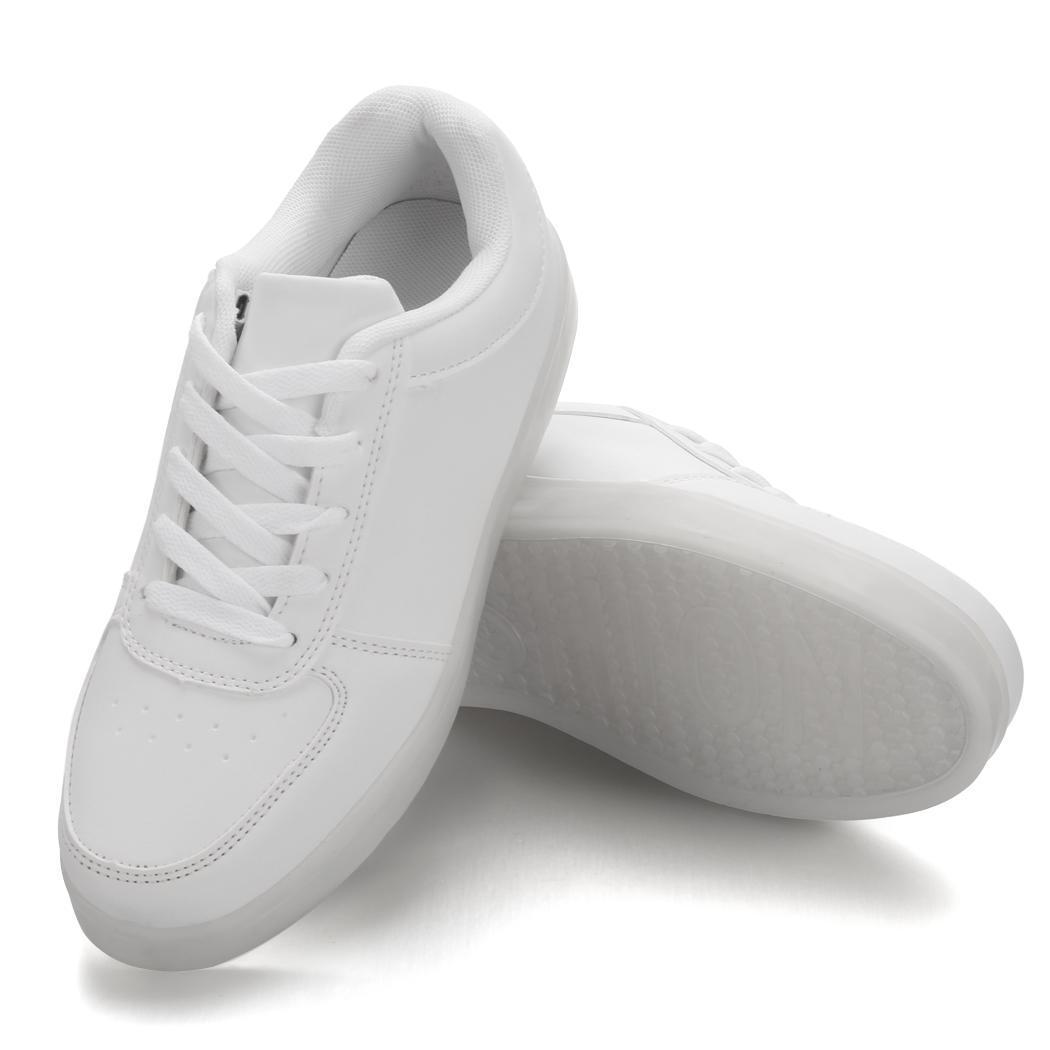 unisex herren damen led schuhe leuchtend blinkschuhe shoes farbwechsel sneaker ebay. Black Bedroom Furniture Sets. Home Design Ideas