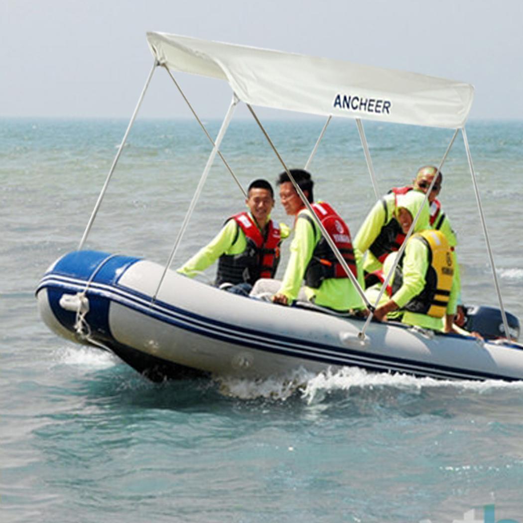 Aluminum Boat Cover : Bow d oxford bimini top boat cover aluminum frame