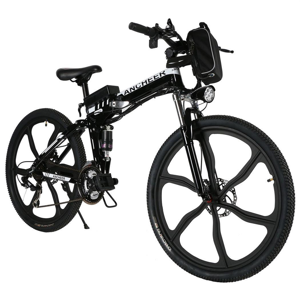 "36V 250W Portable Foldable 26"" Electric Power Mountain Bicycle E ..."
