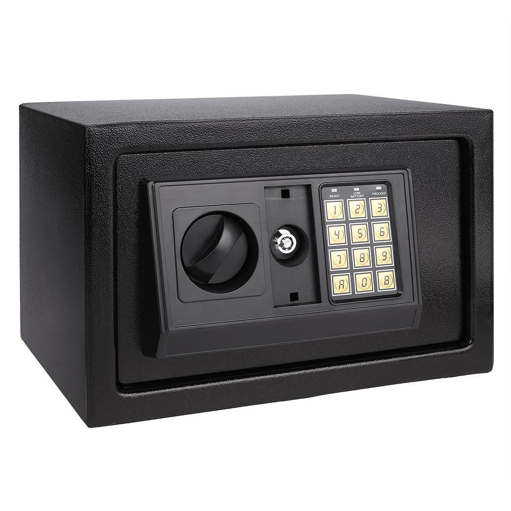 multiple digital electronic keypad lock safe security box. Black Bedroom Furniture Sets. Home Design Ideas