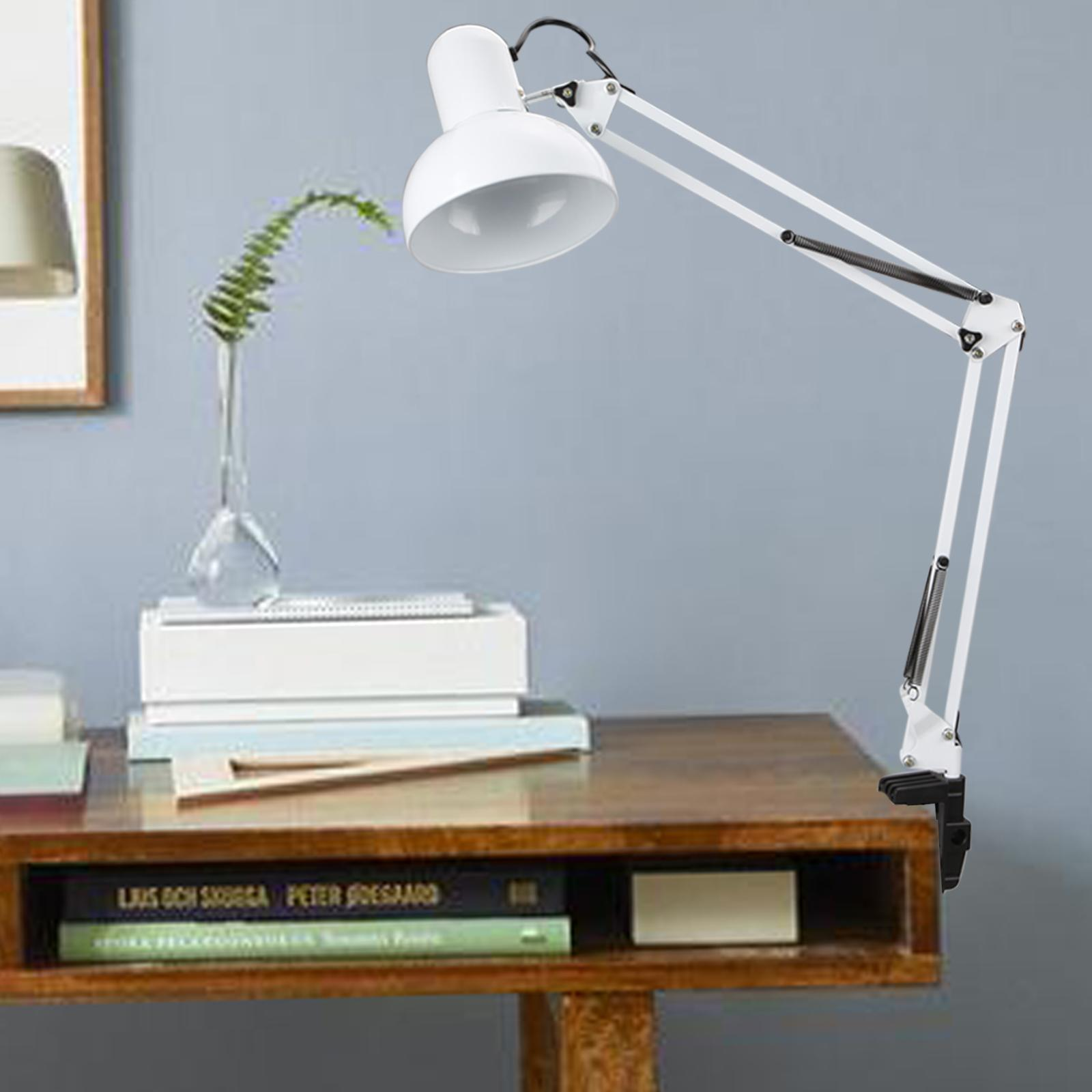 modern architect style swing arm clamp mount table desk lamp light us plug gs8d ebay. Black Bedroom Furniture Sets. Home Design Ideas