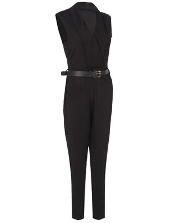 damen overall hose lang playsuit romper jumpsuit anzug. Black Bedroom Furniture Sets. Home Design Ideas