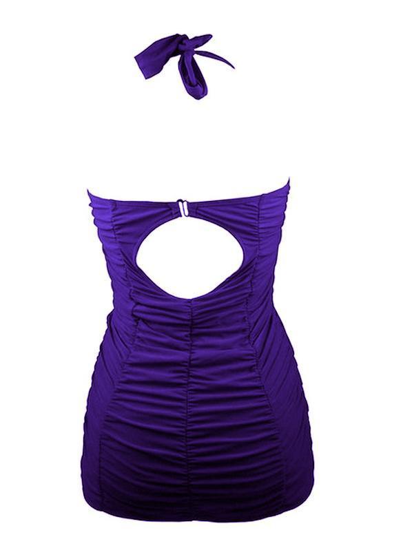 Nuova da donna costume bagno pezzo unico canotta vestito schiena scoperta c1 ebay - Costume da bagno traduzione ...