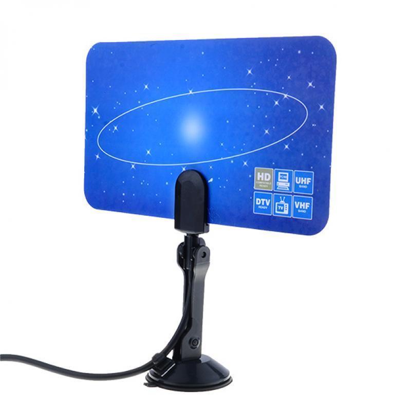digital indoor vhf uhfultra thin flat tv antenna for hdtv