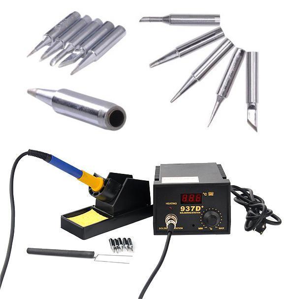 937d soldering station jp heater iron welding solder smd tool 5 tip stand es. Black Bedroom Furniture Sets. Home Design Ideas