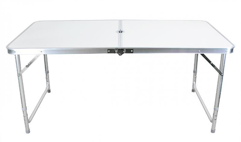 Dining Table Light Height: Adjustable Height Folding Table In/Out Party Dining Camp