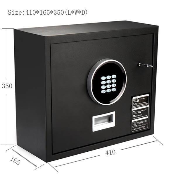 heavy duty electronic digital lock keypad safe box home security cash black. Black Bedroom Furniture Sets. Home Design Ideas