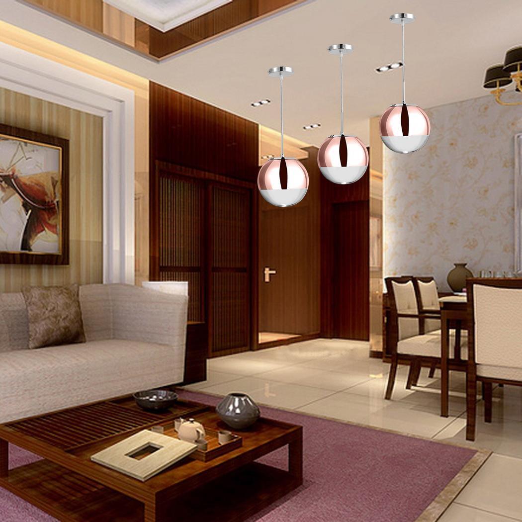 Mini Cute Pendant Lamp Light Ceiling Fixture Globe Kitchen Metal Body ...