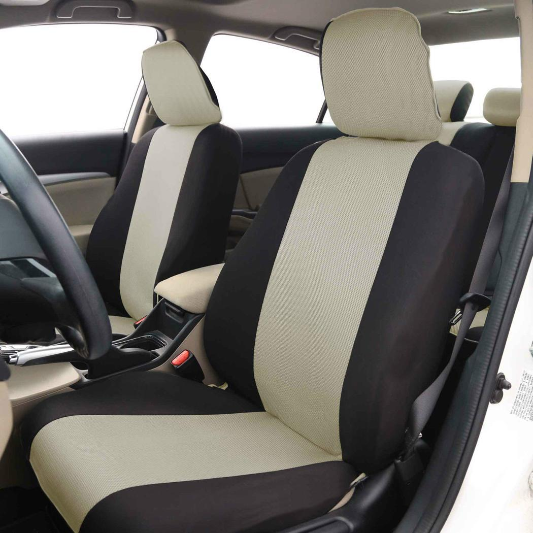 premium car seat cover complete set for toyota camry corolla prius ebay. Black Bedroom Furniture Sets. Home Design Ideas