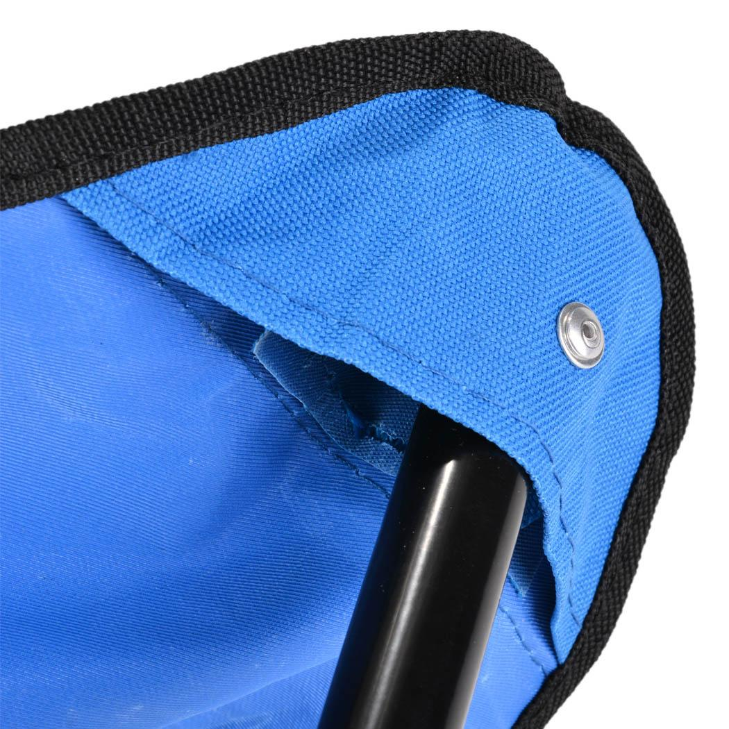 Folding Walking Stick Cane Soft Seat Chair Travel Camp