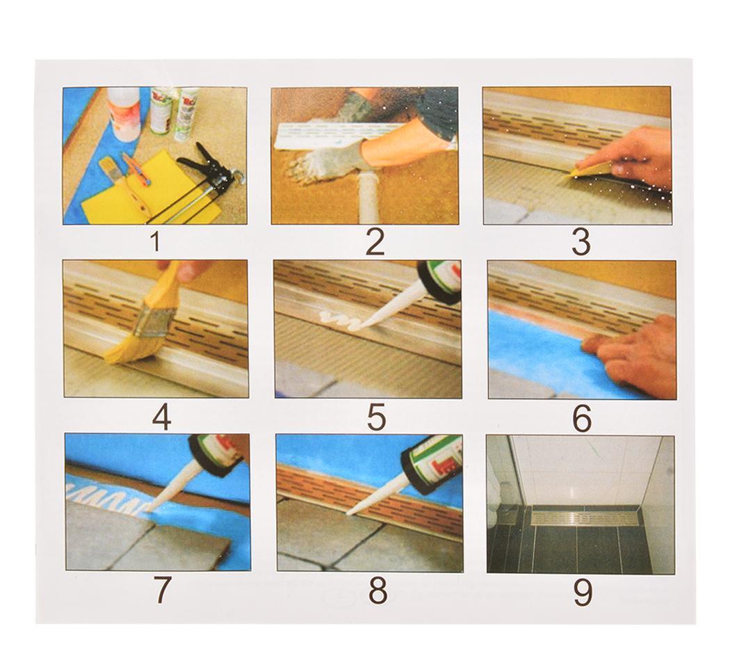 Different Types Of Bathroom Flooring: HQ STAINLESS STEEL SHOWER FLOOR LINEAR DRAIN BATHROOM