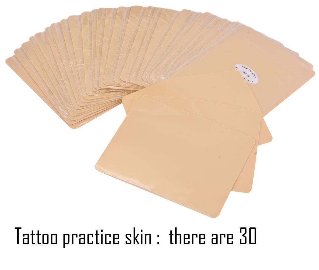 30pcs tattoo practice skin for needle machine supply plain for Practice skin for tattooing
