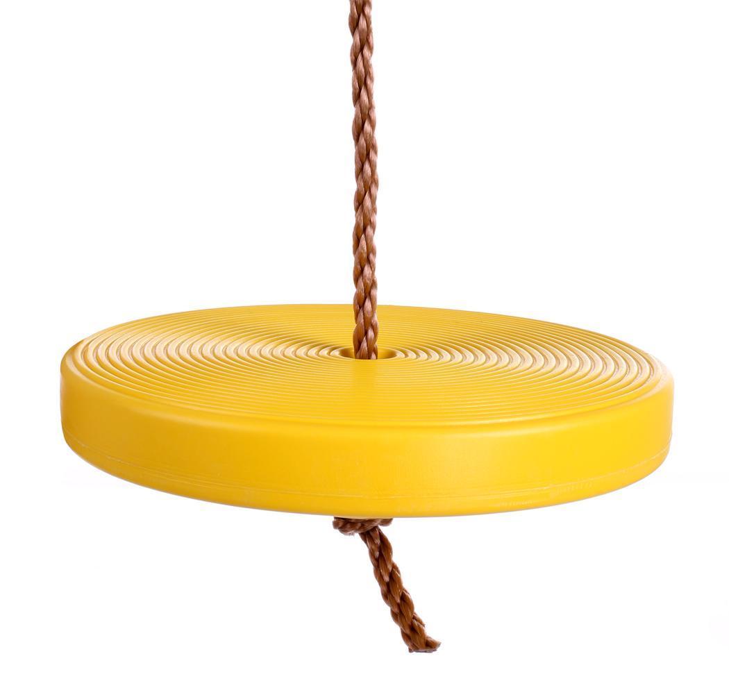 Childrens Swings Rope Swing Kids Tree Seat Backyard Round